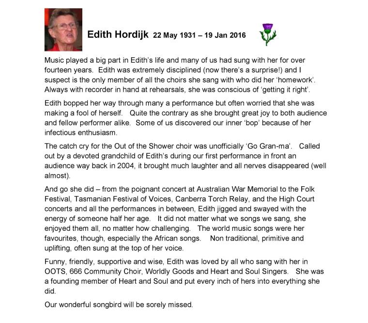 Website - Edith